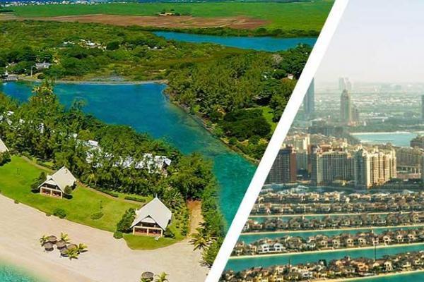 Mauritius with Dubai